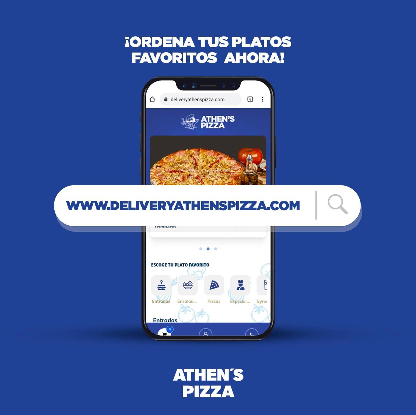 Domicilio Athen´s Pizza
